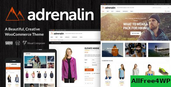 Nulled Adrenalin v2.0.9 – Multi-Purpose WooCommerce Theme NULLED
